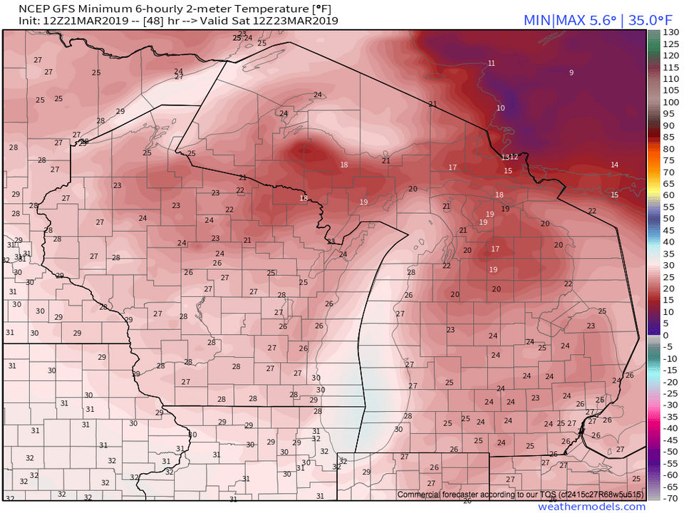 Michigan's weekend weather: Will skies clear for possible Northern Lights?