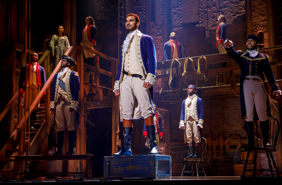All of the 'Hamilton' official merchandise you can get at the musical's Detroit run