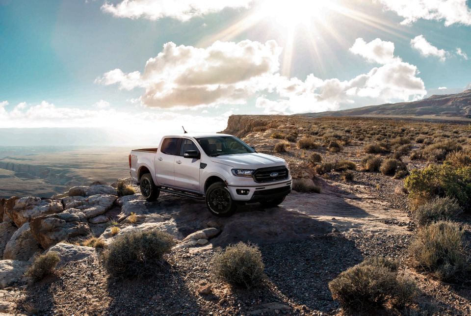 Ford unveils 'Black Appearance Package' for Ranger to make aggressive colors 'pop'