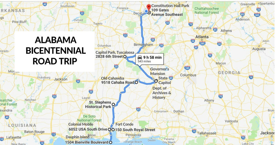 Learn Alabama\'s beginnings on this bicentennial road trip ...