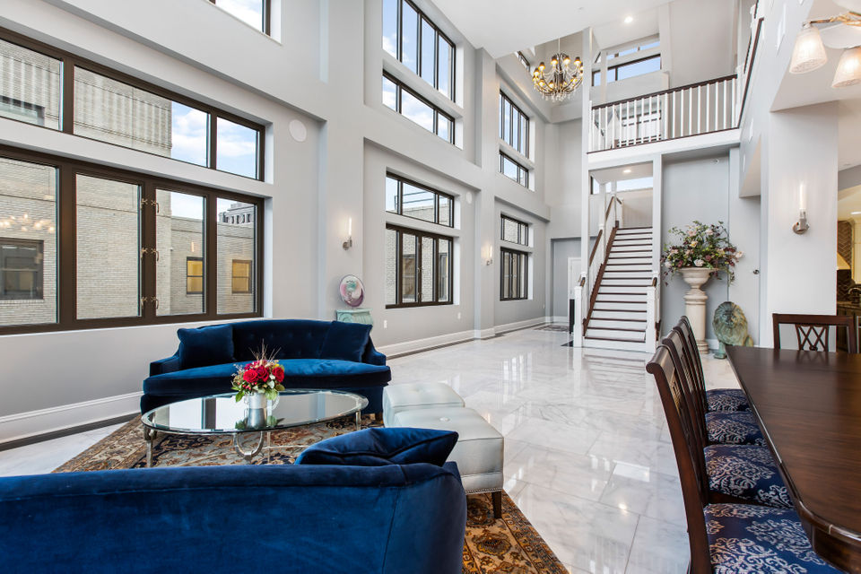 3-story penthouse atop historic Westin Book Cadillac offers amazing views, $4.9M