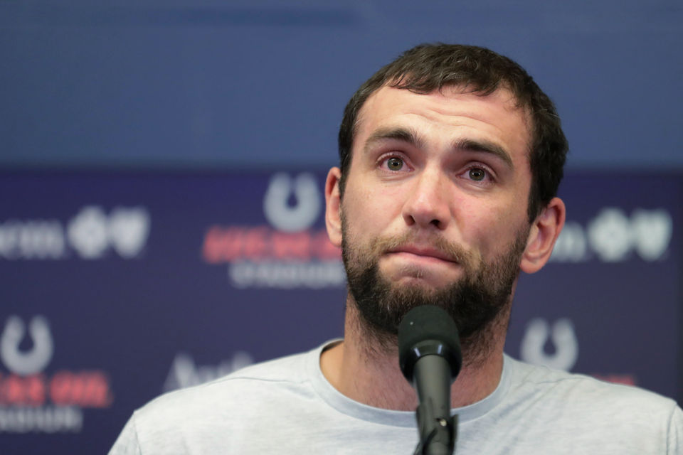 Lions, players from around the NFL react to Andrew Luck's shocking retirement