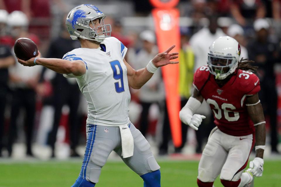 Lions grades: Offense, defense sputters in fourth quarter of tie vs. Cardinals