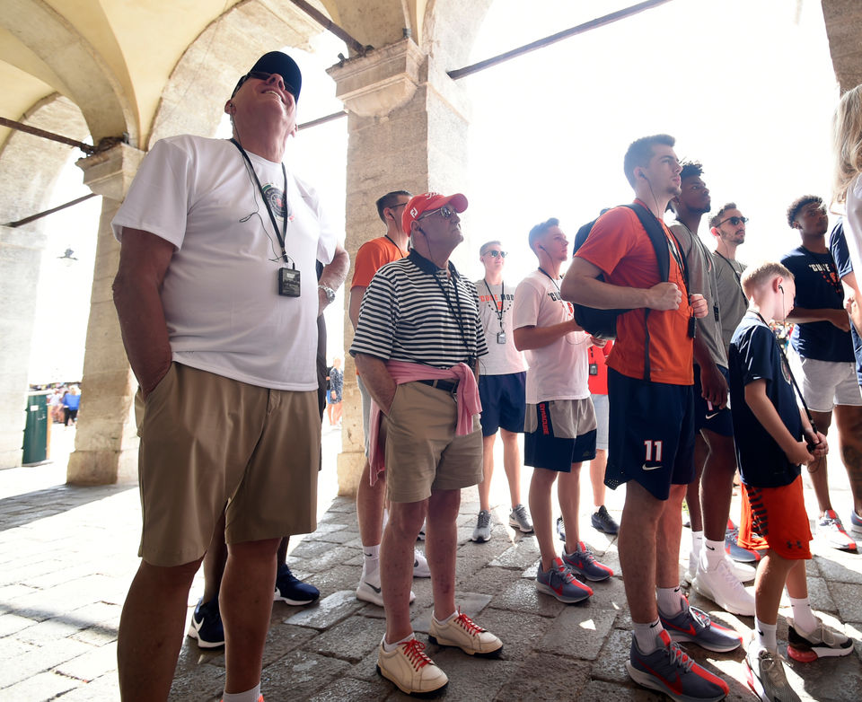 Jim Boeheim in Italy: See photos of the Syracuse basketball coach's trip