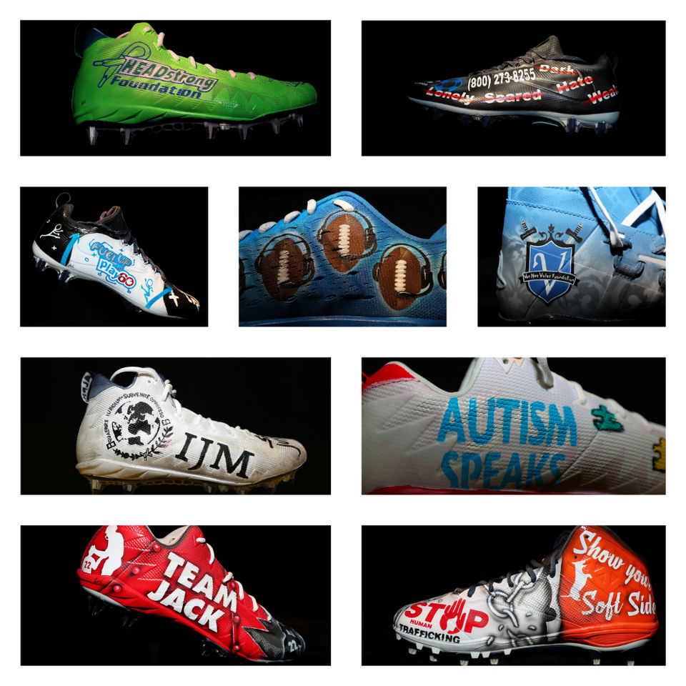 Patriots My Cause, My Cleats 2018: See
