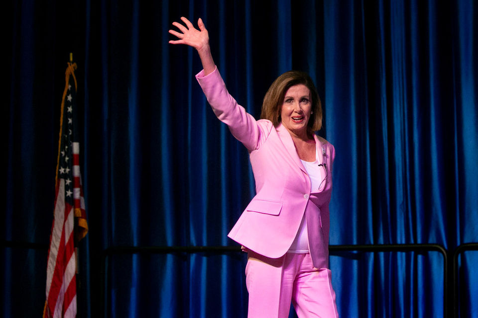 2,000 people totally lost it over Nancy Pelosi and Cory Booker in Atlantic City this weekend