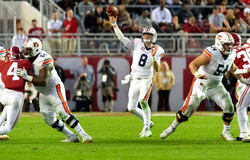 Grading Auburn's 52-21 loss to Alabama - al com