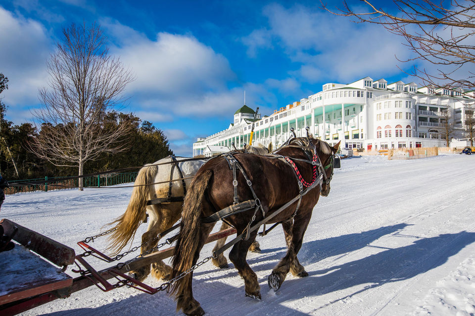 Behind The Scenes At Mackinac Island S Grand Hotel In Winter Mlive Com