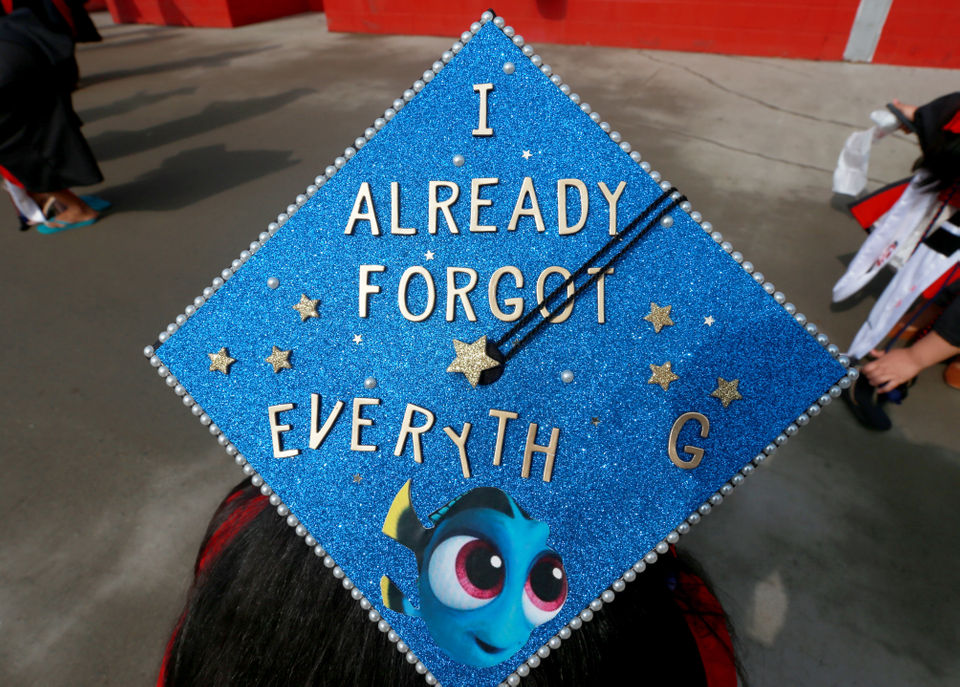 The 36 Rutgers grad caps that we are so here for