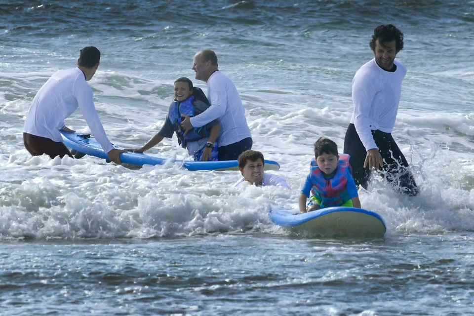 Shore town's 'surf therapy' brings joy to special-needs kids