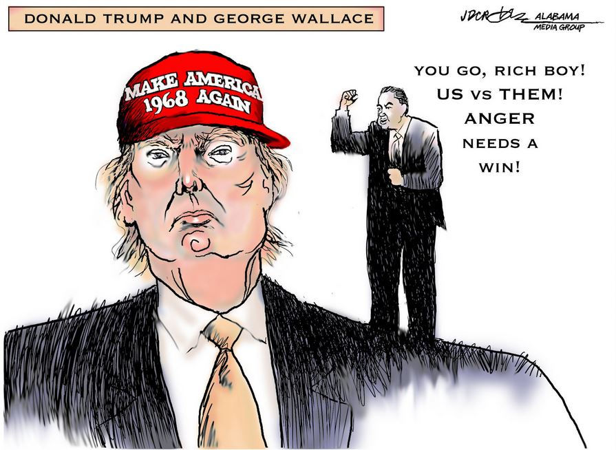 George Wallace 1968 presidential run: 'Most influential loser' in ...