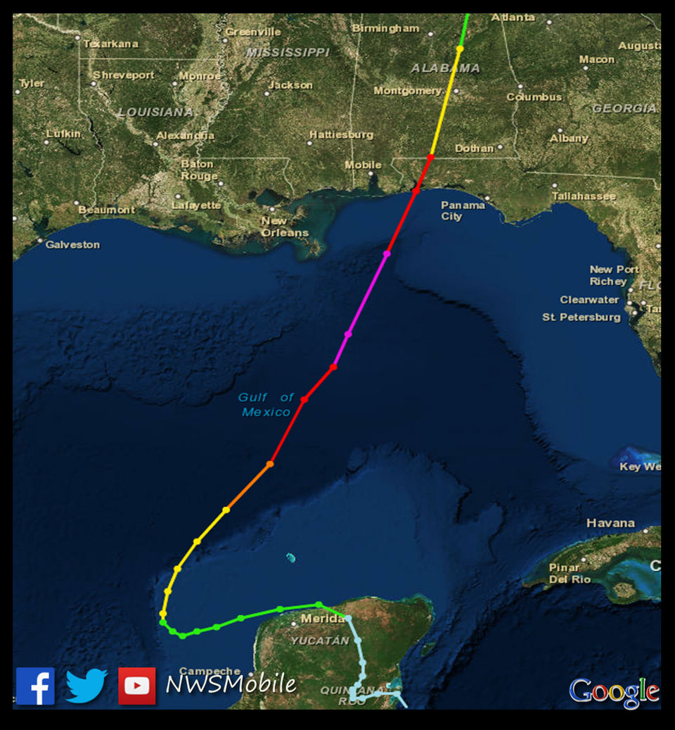 Remembering Hurricane Opal 23 Years Ago Today Al Com