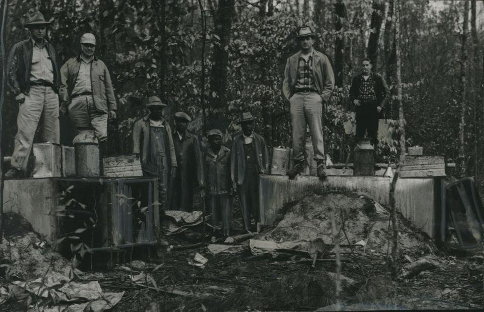 Alabama moonshine raids through the decades: 81 years of lawmen