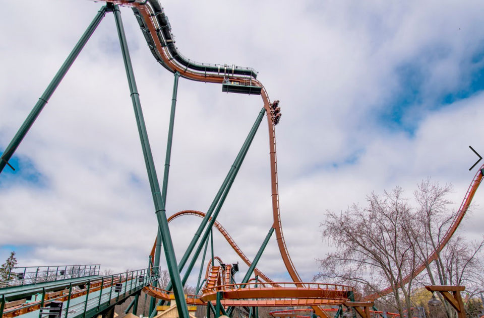 New record coaster just a road trip from Michigan, and it's not at Cedar Point