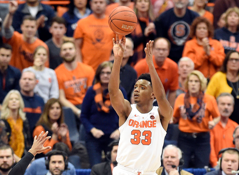 Will Jim Boeheim be able to attend Jimmy Boeheim's Senior Day at Cornell in 2021?