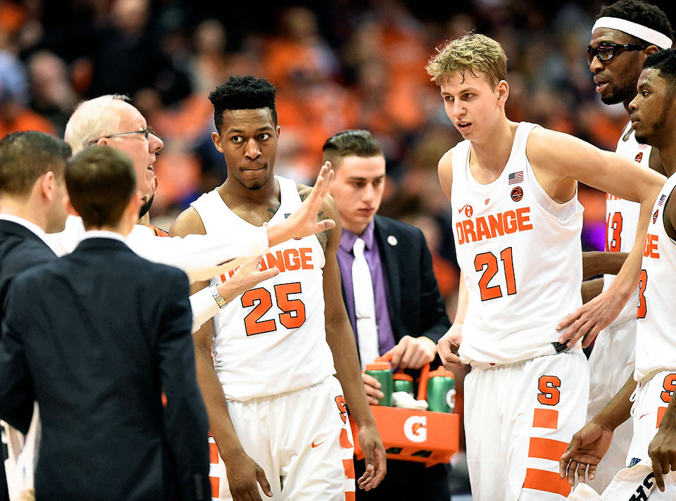 2018 19 Syracuse Basketball Has Chance To Be Near Top Of Acc