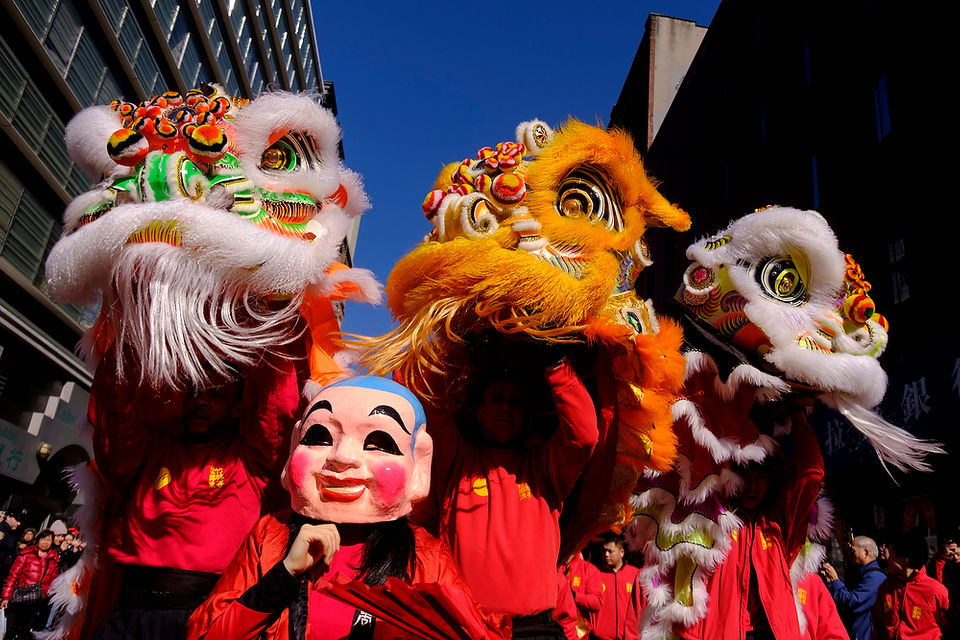 Roaring into the Lunar New Year at NYC's eye-popping Lion Parade in Chinatown (PHOTOS)