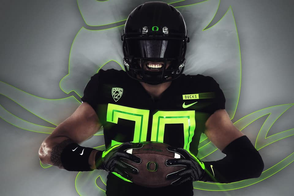 the latest 0a88f 7ebc3 Oregon Ducks to wear black uniforms vs. Arizona State ...