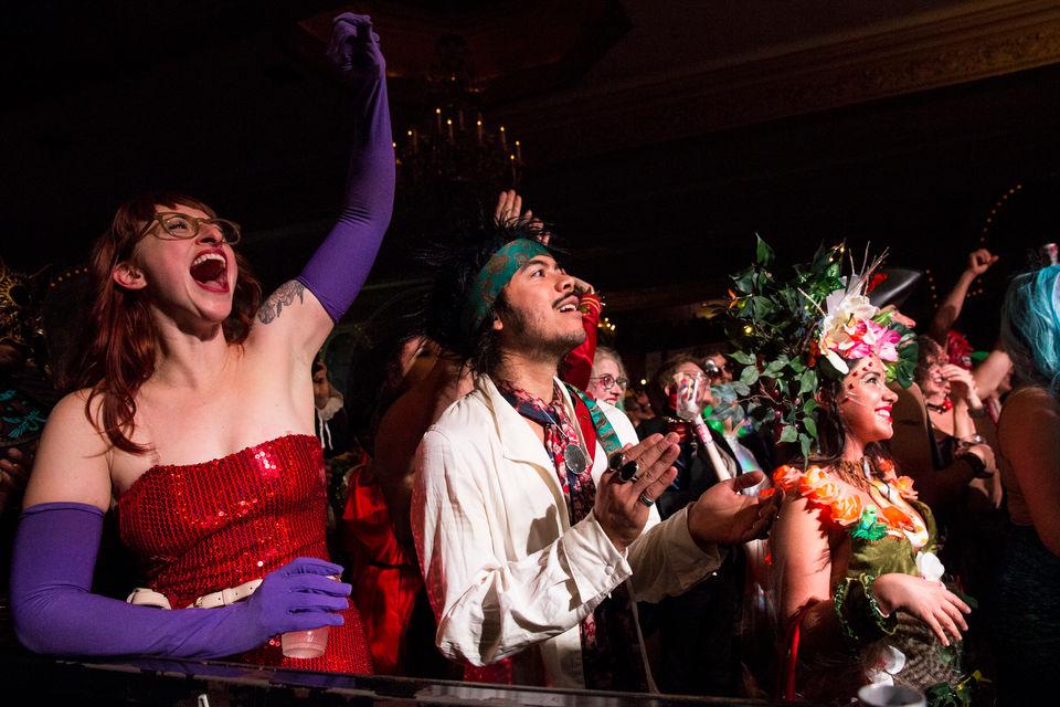 Crystal Ballroom Halloween Party 2020 The Portland Erotic Ball 2018 steams up the Crystal Ballroom