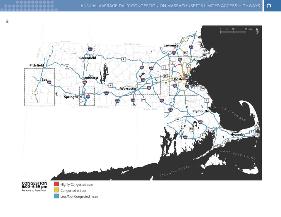 How bad is Massachusetts traffic and what can be done about it