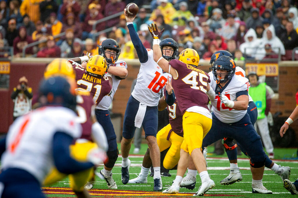 Michigan gameday: Will QB Brandon Peters start for Illinois?