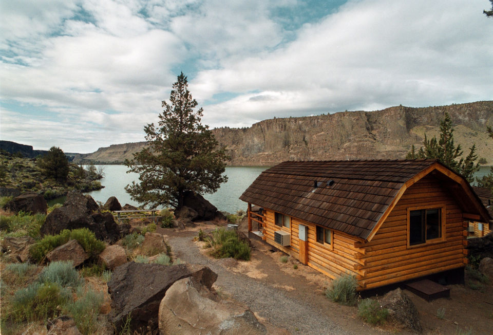 Go 'camping' in a deluxe cabin at these 6 Oregon state parks