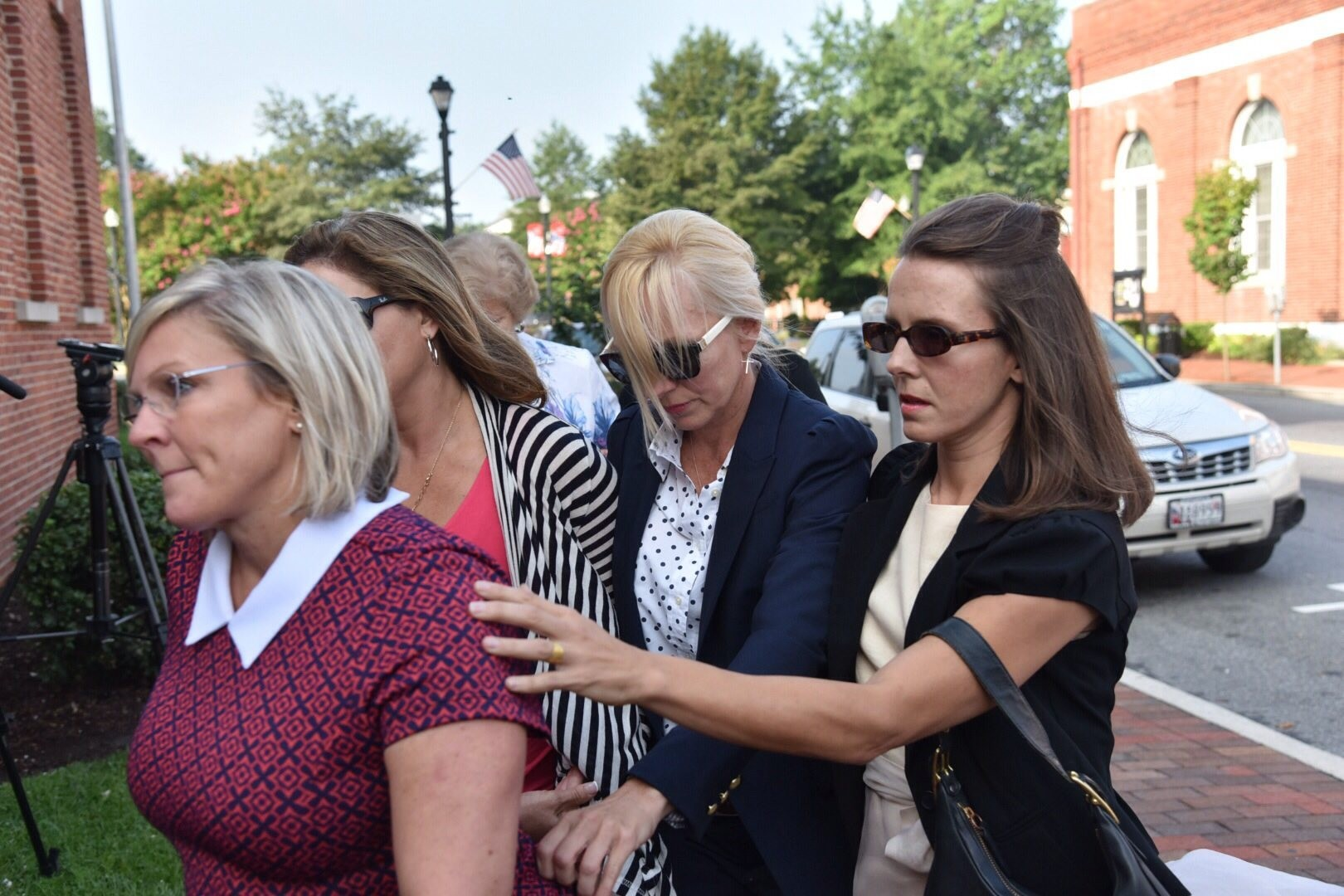 Former Ravens Cheerleader Molly Shattuck Collapses At Her Sentencing For Raping Boy 15 Syracuse Com