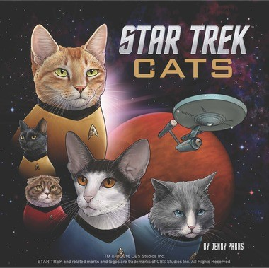 """Star Trek Cats"", cover"