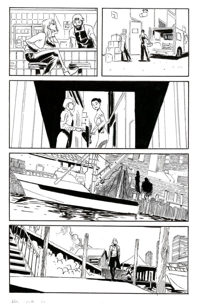 """""""Nancy Drew and the Hardy Boys: The Big Lie"""" #2, unfinished interior art"""