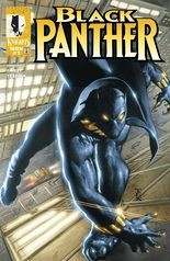 """Black Panther"" #1, vol. 3, cover"