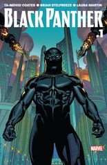 """Black Panther"" #1, vol. 6, cover"
