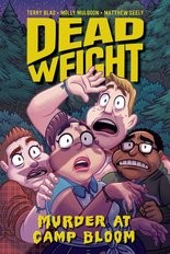 """Dead Weight: Murder at Camp Bloom,"" cover"