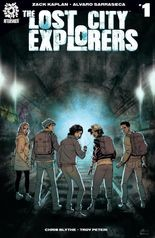 """The Lost City Explorers"" #1, cover"
