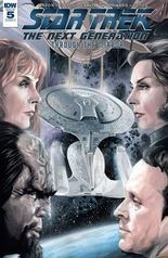 """""""ST: TNG: Through the Mirror"""" #5, cover"""