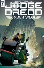 """""""Judge Dredd: Under Siege"""" #1, cover"""