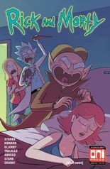 """""""Rick and Morty"""" #38, cover"""
