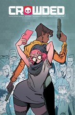 """""""Crowded"""" #1, cover"""