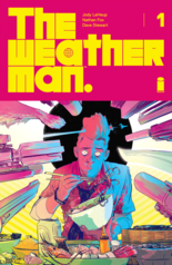 """""""The Weatherman"""" #1, cover"""