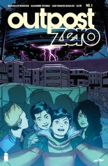 """""""Outpost Zero"""" #1, cover"""
