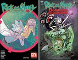 """Rick and Morty"" #41, ""Rick and Morty vs. Dungeons & Dragons"" #1, covers"