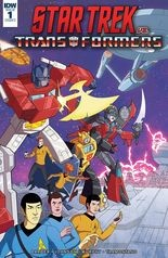 """Star Trek vs. Transformers"" #1, cover"