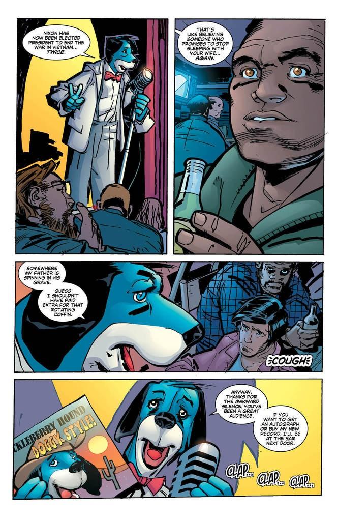 """""""Green Lantern/Huckleberry Hound"""" #1, interior"""