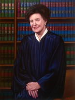Paul Jennis was commissioned to create a portrait of New Jersey Supreme Court Justice Marie L. Garibaldi.
