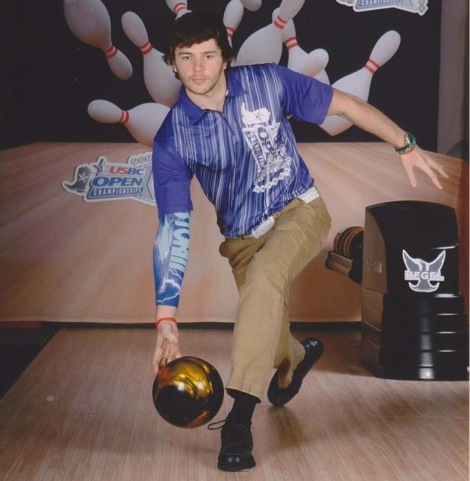 Tim Emery of Ewing bowled a 300 game in 74.85 seconds on June 2, 2017, for a possible world record. (courtesy photo)