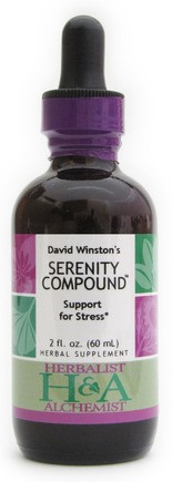 David Winston's Serenity Compound was named the best herb formula for stress relief.