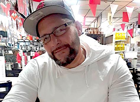 "Joseph ""Joey"" Santos, 44, was killed by police outside Dorney Park. (Photo courtesy of Juliana Valenzuela)"