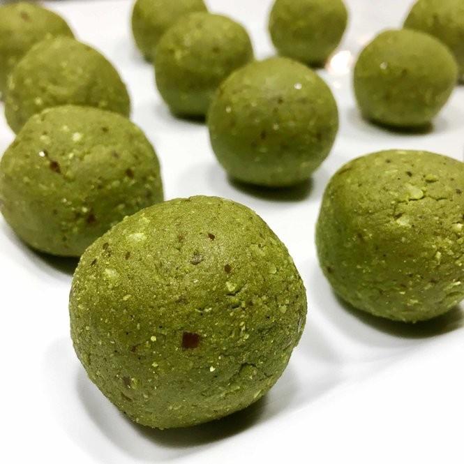 Matcha Green Tea Protein Bites (Photo by Emma Poling)