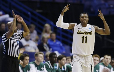 Wichita State forward Cleanthony Early could be a good fit for the Clippers at No. 28. (AP Photo/Jeff Roberson)
