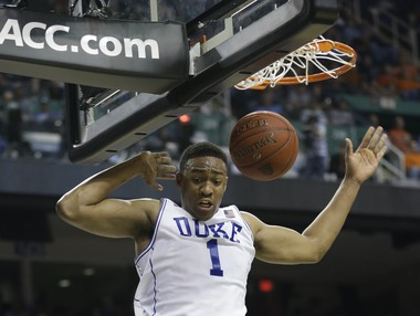 Duke's Jabari Parker is perhaps the most NBA-ready prospect in the draft. (AP Photo/Gerry Broome)