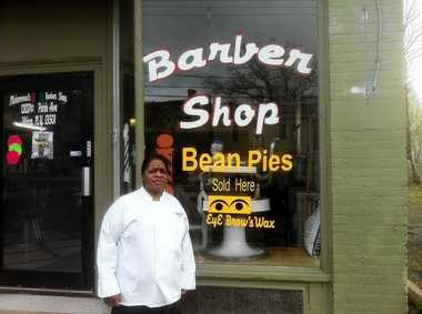 Muhammad X Seven, who makes Bean Pies at his barber shop in Utica. From 'A Taste of Upstate New York' by Chuck D'Imperio.